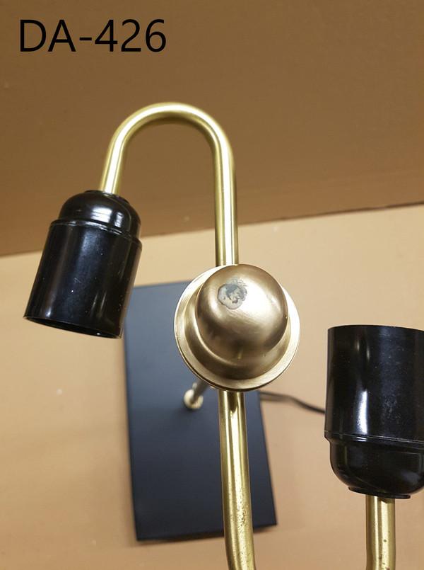 SE-001 - DAMAGED - SEDNA TABLE LAMP (S) -  MATT BRASS/BLACK -DA-426