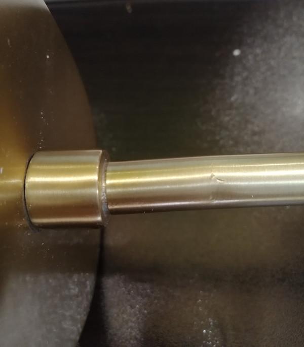 DAMAGED - PEGGY WALL LAMP BRASS - GREY - DA-469