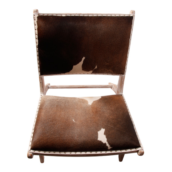 Lounge Chair- top View Brown hide on order can be 5 months