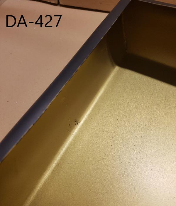 SE-001 - DAMAGED - SEDNA SQUARE TABLE LAMP (S) -  MATT BRASS/BLACK -DA-427