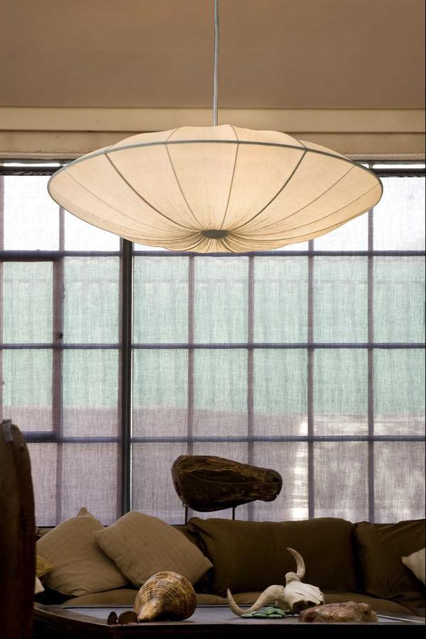 MO-002M - ARCHE Silk Ceiling Lamp - Medium