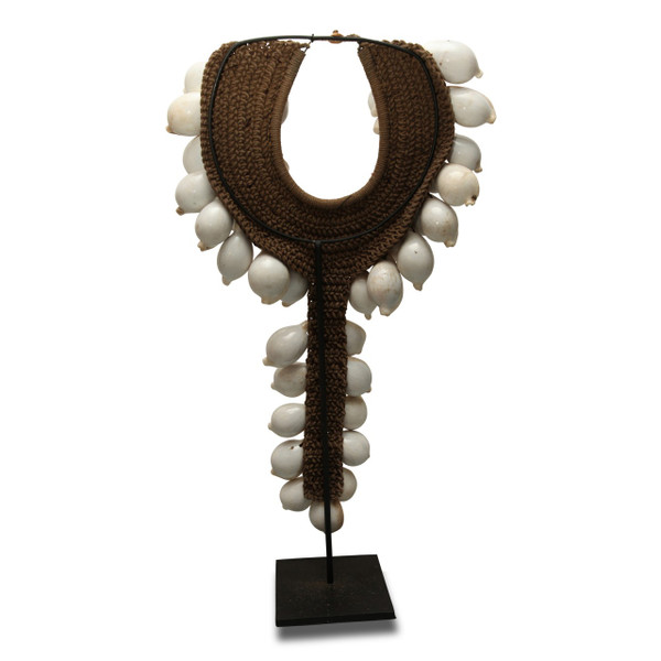 Necklace on stand- Rear View