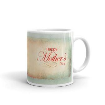 Happy Mother's Day with Rose artwork Mug