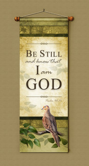 Be Still and Know that I am God Banner