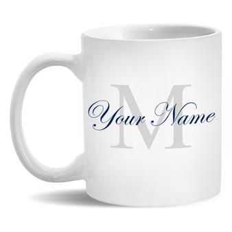 Personalized Monogram and Name Mug