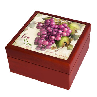 I am the Vine; You are the Branches Keepsake Box