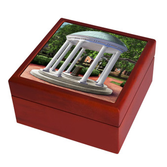 Chapel Hill UNC Old Well Keepsake Box