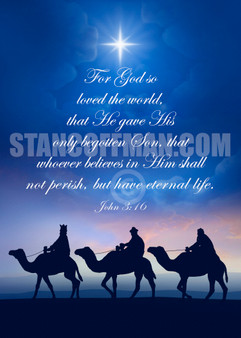 "John 3:16 - ""For God so loved the world that ... (Digital Download)"