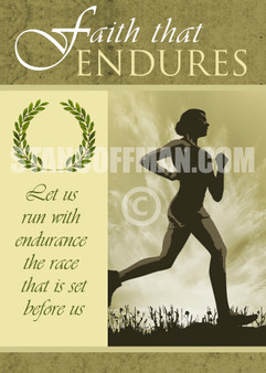 Run with Endurance the Race God has set before us (Digital Download)