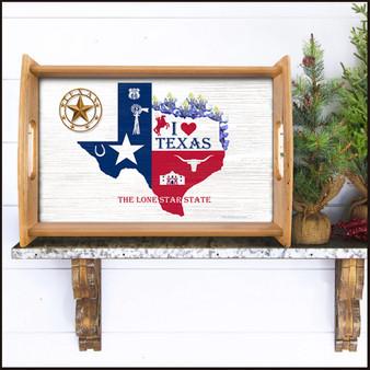 Texas Serving Tray