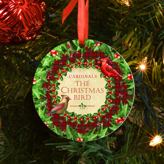 Cardinals The Christmas Bird Ornament