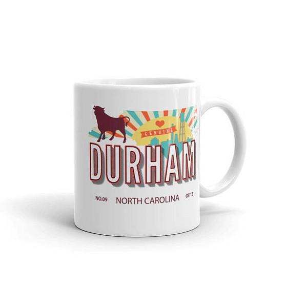 Durham Retro Coffee Mug