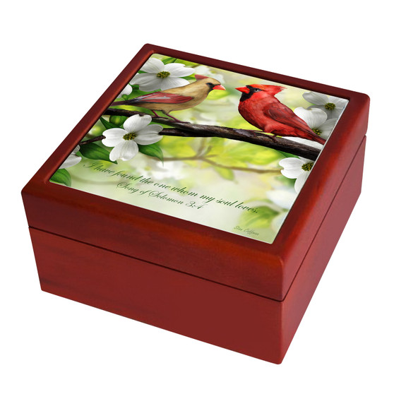 I Have Found the One Whom My Soul Loves Keepsake Box