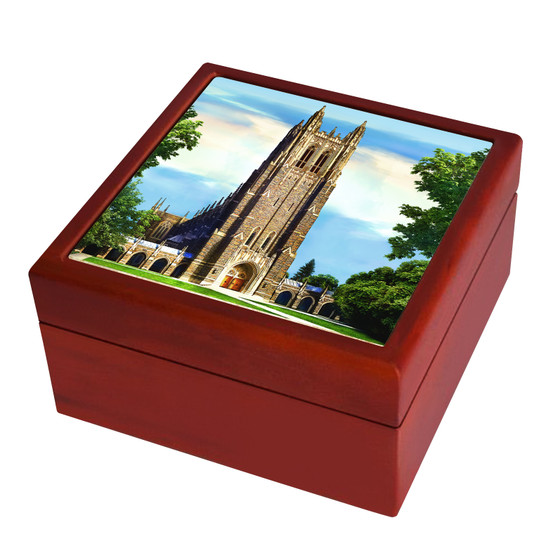 Duke University Chapel Keepsake Box