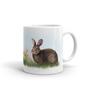 Rabbit in Springtime Mug