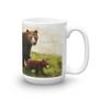 Mama Bear Walking with Cubs Mug