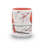 Cardinals in Snow Mug
