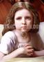 Young Girl saying Prayers at Bedtime (Digital Download)