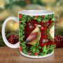 Cardinals The Christmas Bird Mug
