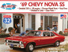 69 Chevy Nova SS Model Kit 1/32 Scale Atlantis