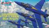 F11F-1 Grumman Tiger Blue Angels 1/54 Plastic Model Kit Atlantis