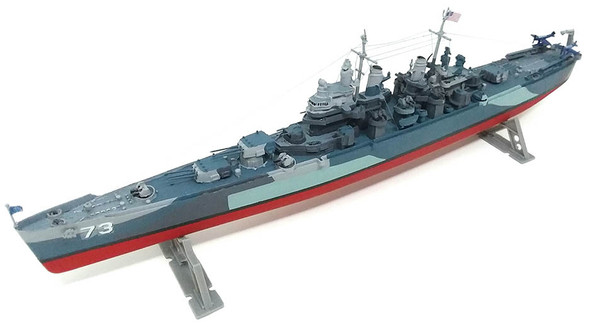 USS Pittsburgh CA-72 heavy Cruiser Plastic Model Kit 1/490