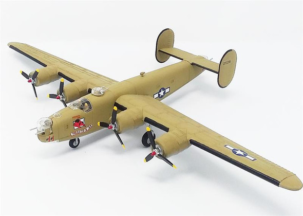 B-24J Liberator Bomber Buffalo Bill Plastic Model Kit 1/92