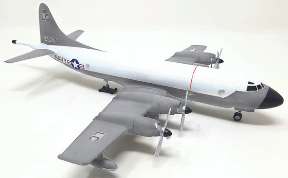 Lockheed P-3A Orion Anti Submarine Patrol Bomber Plastic Model Kit 1/115