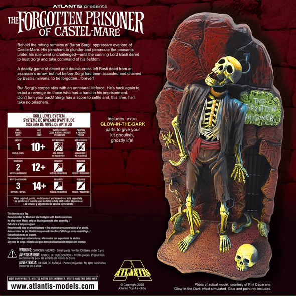 PREORDER Forgotten Prisoner of Castel Mare 1/8 Model Kit