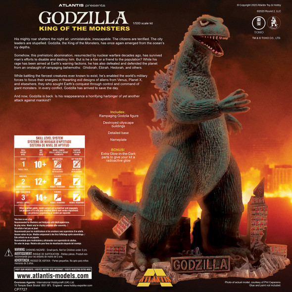 Godzilla King of the Monsters Plastic Model Kit