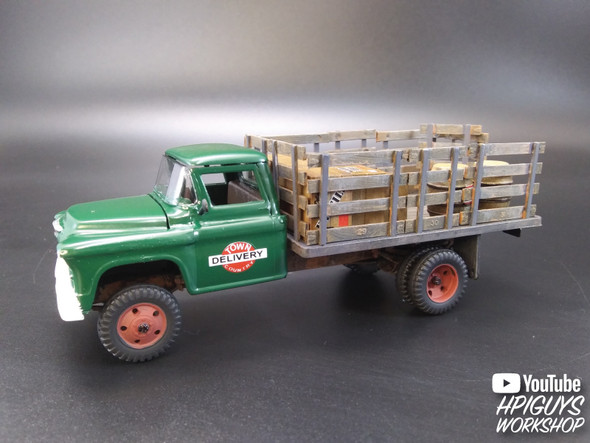 1955 Chevrolet Stake Truck 1/48 Plastic Model Kit