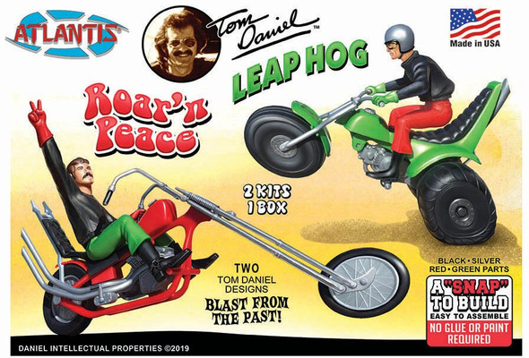 Make and Take Roar N Peace Motorcycle Model Kit Set 24 kits