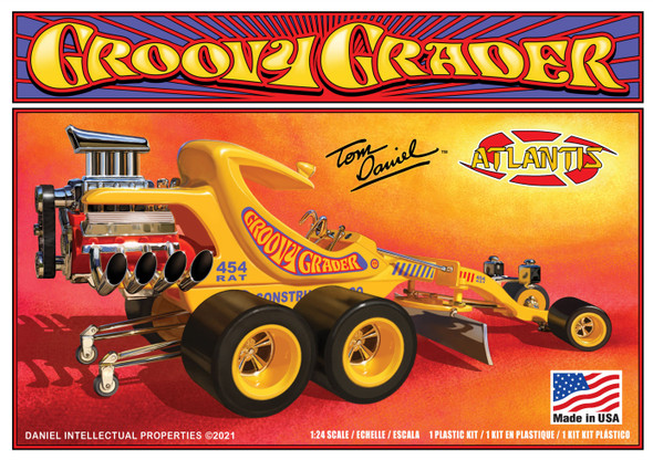 1/24 Tom Daniel Groovy Grader Model Kit