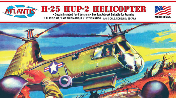 PREORDER HUP-25 Army Mule Helicopter 1/48 plastic model kit