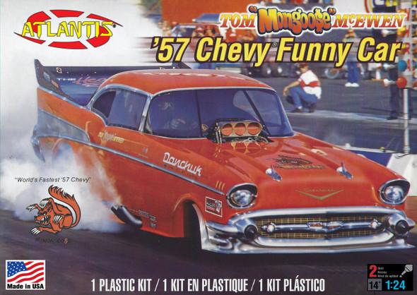 PREORDER Tom Mongoose McEwen 1957 Chevy Funny Car 1/24