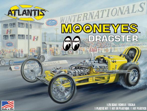 MOONEYES Dragster 1/25 Plastic Model kit Atlantis