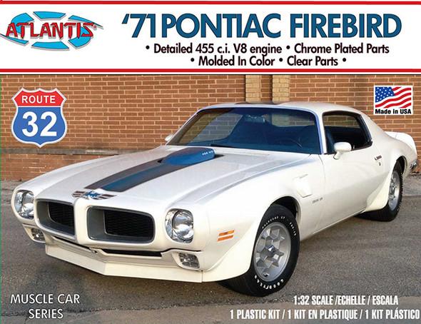PREORDER 1971 Pontiac Firebird 1/32 Plastic Model Kit Atlantis