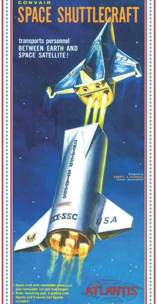 Convair Space Shuttlecraft Plastic Model Kit 1/150