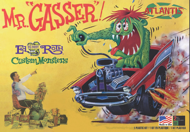 Mr Gasser Ed Big Daddy Roth Plastic Model kit