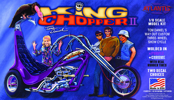 PREORDER Tom Daniel  King Chopper II 1/8 Plastic Model kit