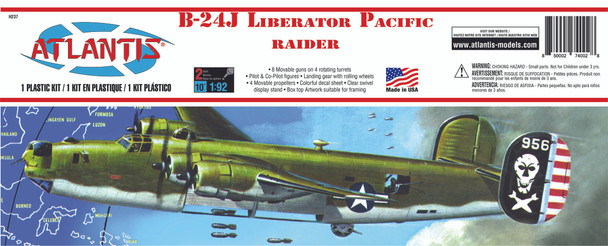 B-24J Liberator Pacific Raider Plastic Model kit 1/92