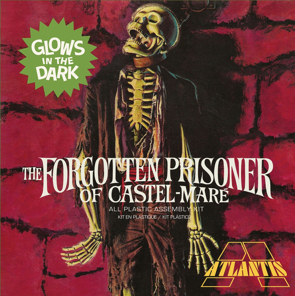 Forgotten Prisoner of Castel Mare Glow 1/8 Model Kit