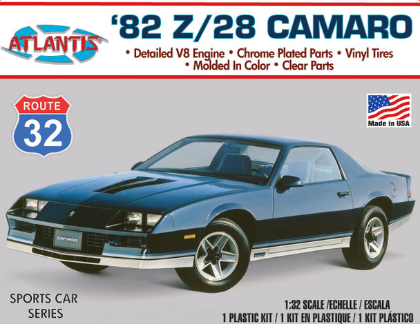 PREORDER 1/32 82 Camaro Z-28 Model Kit