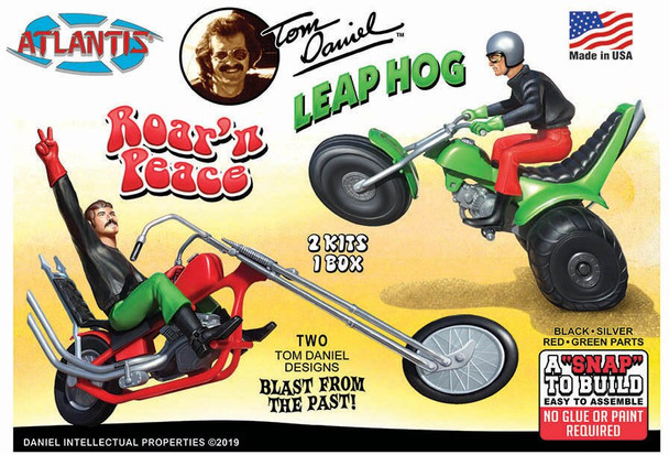 Make and Take Roar N Peace Motorcycle Model Kit Set 24 kits