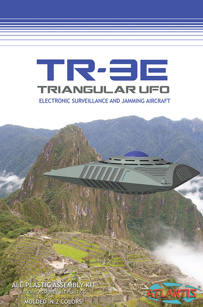 TR-3E UFO with Base 5 Inch Series Plastic Model Kit