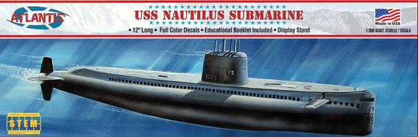 USS Nautilus Submarine  STEM 1/300 plastic model kit