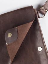 Handmade Leather Despatch Bag
