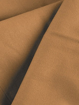 Close Up of Tan Brown Pleated Chino Trousers Fabric