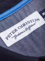 Close Up of Pink & Navy Original Polo Shirt Label