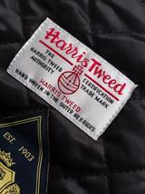 Bronze Harris Tweed Baker Boy Cap